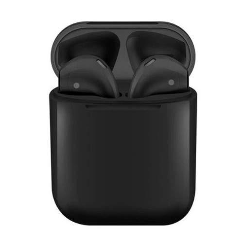Fone De Ouvido Sem Fio Bluetooth 5.0 i12 TWS Preto Touch True Wireless Stereo