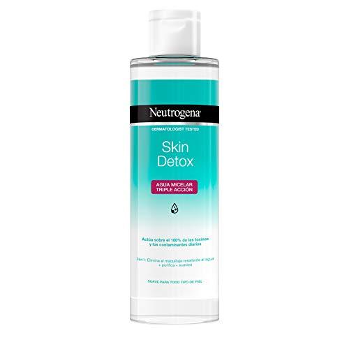 Neutrogena Detox Agua Micelar Triple Acción - 400