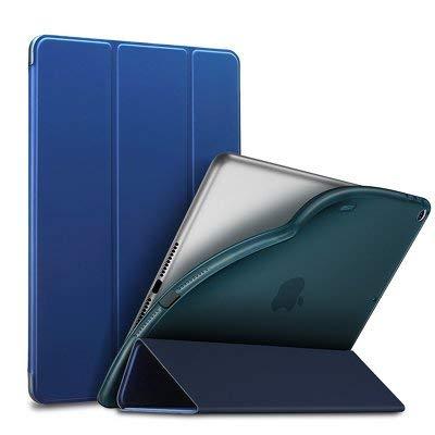 ESR- Funda Rebound de Silicona - Silicon Folder Compatible con i Pad Mini (2019) Smart Folio Case - Color- Azul Marino