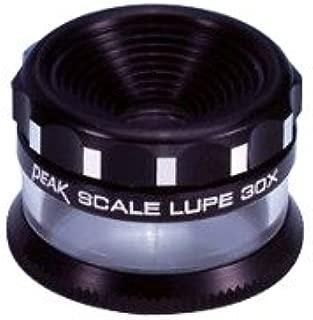 虫眼鏡 ピーク(PEAK) スケールルーペ 30倍 拡大鏡 2037 高倍率