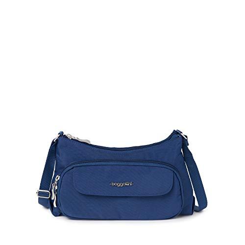 Baggallini unisex adult Everyday Crossbody Travel cross body handbags, Pacific, One Size US