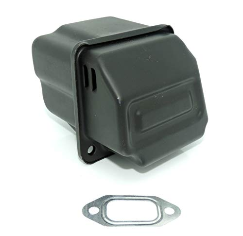 WANWU Juego de tubo de escape silenciador compatible con Stihl 026 MS260 MS 260