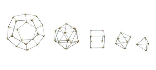 Pythagorean Shop Conjunto de geometría de sólidos platónicos