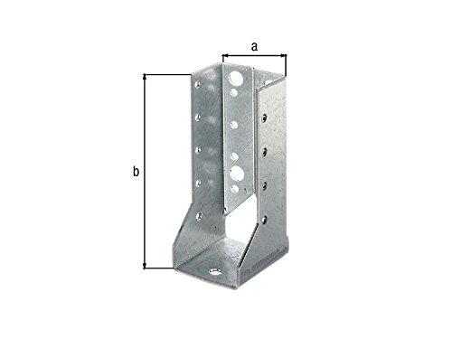 60 x 100mm Holzverbinder innenliegend Balkenschuh innen mit ETA Zulassung - verzinkt