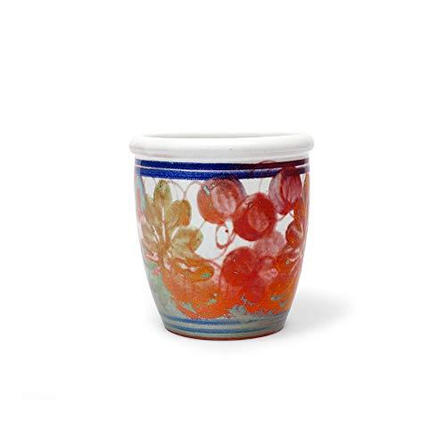Faenza keramische glazen beker klassieke bloemen Fantasy saus boot
