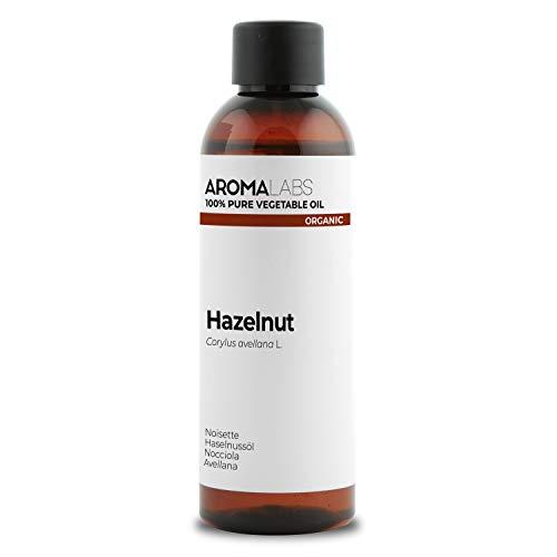 BIO - Olio di Nocciola, garantito 100% puro, naturale e spremuto a freddo -Biologico certificato da Ecocert - Aroma Labs