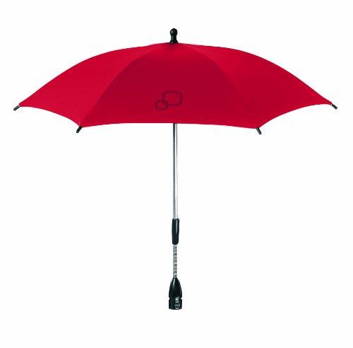 Quinny 72406910 - Sonnenschirm für Kinderwagen Buzz, Moodd, Senzz, Speedi, Zapp und Zapp Xtra, red revolution