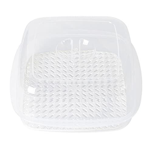 Yxinghai Horno de microondas Vaporizador de plástico con tapa para pan al vapor Dumpling Utensilio de cocina al vapor Pan Bun vaporizador