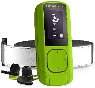 انيرجي سيستم MP3 Clip BT Sport Greenstone (16 جيجابايت, راديو اف ام دي, سماعات رياضية, مشغل ام بي 3, شريط ذراع, microSD)