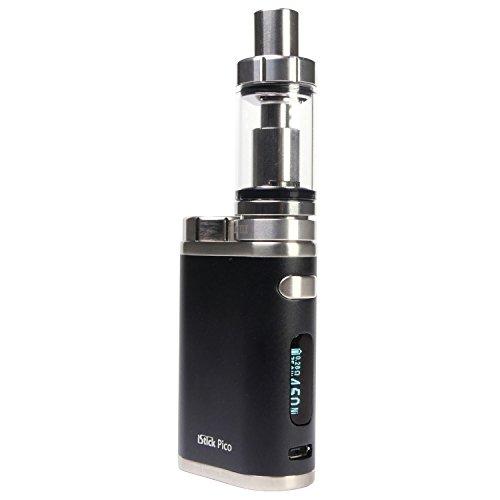 Eleaf iStick Pico 75 Watt Kit mit Melo 3 Clearomizer 4 ml, Riccardo e-Zigarette, schwarz
