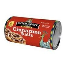 Immaculate Baking Co. Roll,Cinnamon 17.5 Oz (Pack Of 12)