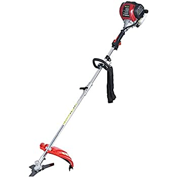 PowerSmart String Trimmer 4 Stroke 31 cc Gas Powered String Trimmer Cordless String Trimmer 13  Cutting Path Power Trimmer with 10  Brush Cutter Blade String Line Included PS4530A