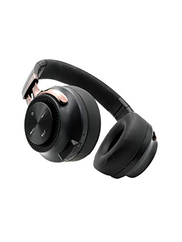 Hammer Bash Over The Ear Wireless Bluetooth Headphones with Mic, Deep Bass, Foldable Headphones, Upto 8 Hours Playtime, Workout/Travel, Bluetooth 5.0 (Black)