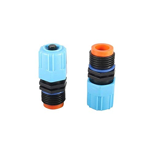Water Sprinkler 100 Pcs Large-Scale 1/2' Male Thread Adjustable Atomizing Sprinklers Agricultural Irrigation Garden Greening Watering Nozzles A,Hardware tool