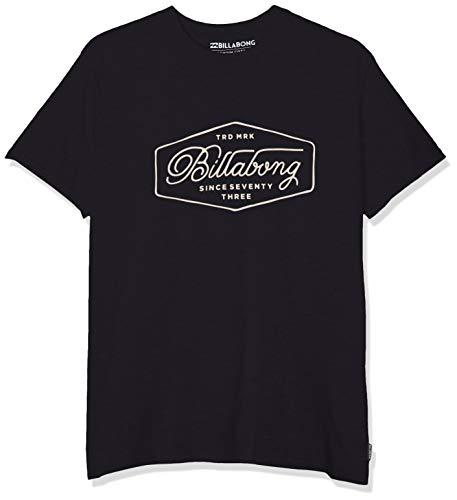 BILLABONG Uomo Trademark Tee SS T-Shirt Not Applicable, Blu (Navy 21), Medium