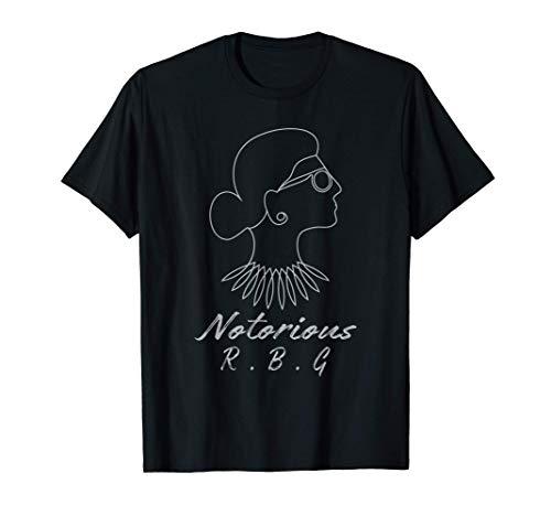 Notorious R.B.G Ruth Bader Ginsburg Womens rights T-Shirt