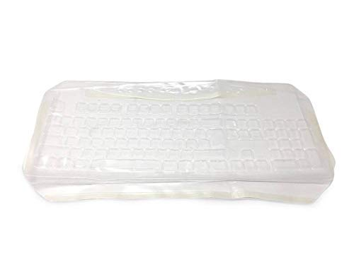 Viziflex Seels LATEX FREE KEYBOARD COVER for Logitech K360, Y-R0017, protect it from liquid spills, dust, food, grease and bacteria, easy to clean and disinfect.