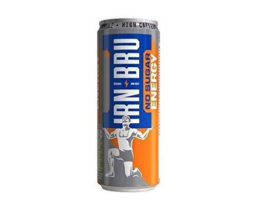 Irn Bru - Energy Sugar Free Can 330Ml