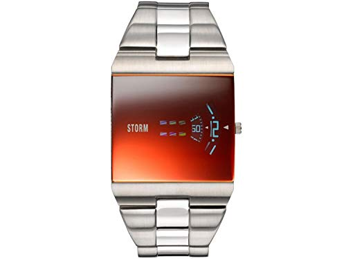 Storm London New Remi SQ Lazer Red 47430/R Reloj de Pulsera para Hombres