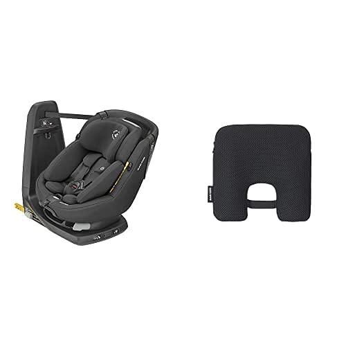 Maxi-Cosi Axissfix Plus Silla de coche giratoria 360° isofix, silla auto reclinable y contramarcha con reductor bebé recién nacido, 0 meses - 4 años + Dispositivo antiabandono para silla de coche