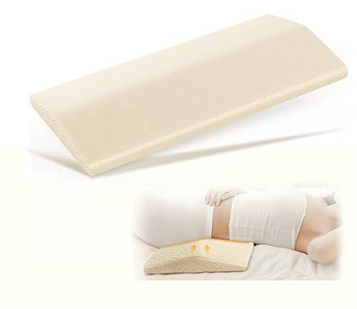 Acksonse Lumbar Pillow for Sleeping Memory Foam Back Pain Support...