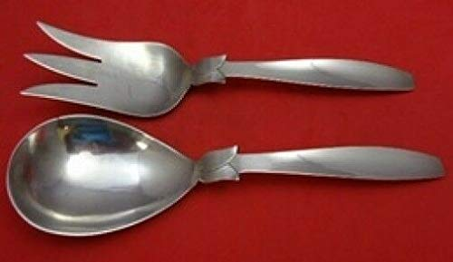 Pattern Unknown by Zacho Sterling Silver Salad Serving Set All Sterling 10'