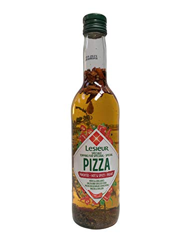 Pizza Öl Pizzaöl Hot & SPICY -PIKANT 500 ml von Lesieur