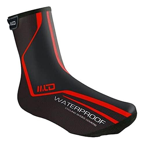 Cubrezapatillas de ciclismo impermeables Invierno Cálido Cubrezapatillas para bicicleta de carretera Cubierta de zapatos de bicicleta para hombres mujeres Semicerrado MTB Botines de bicicleta