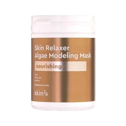 SKIN79 Skin Relaxer Algae Modeling Mask Nourishing 150 g |Mit Gold-Partikeln und Gelee Royal Extrakt | Für alle Hauttypen geeignet
