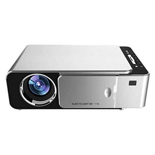 bansd Proyector Full HD 4K T6 LED 3500 lúmenes USB 1080P...