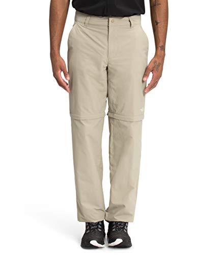 The North Face Men's Paramount Horizon Convertible Pant, Twill Beige, 30-SHT