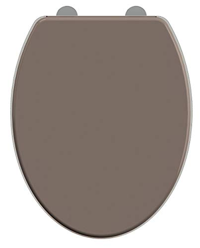 Allibert 822609 WC-Sitz, 37,3 x 7 x 45,3 cm, Taupe