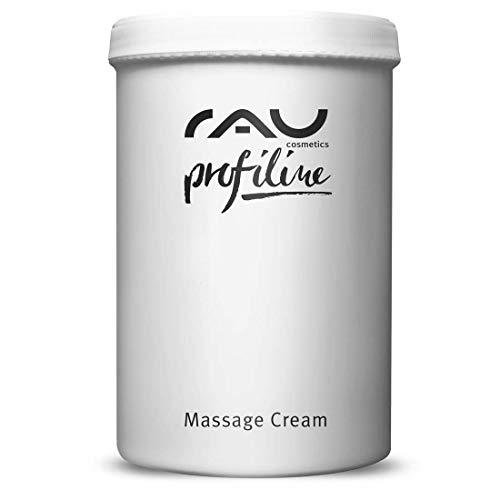 RAU Massage Cream Profiline 1000 ml - Massagecreme Gesicht und Körper für Entspannende Massagen