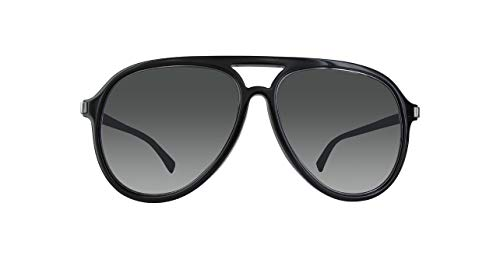 Marc Jacobs Sonnenbrille MARC174/S Herren Aviator Sonnenbrille 58, Schwarz