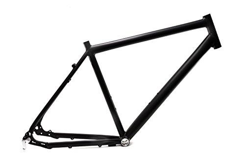 """28\"""" Zoll Alu Fahrrad Rahmen Herren Trekking Disc Scheibenbremse Ketten Schaltung Rh 52cm Schwarz matt"""