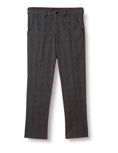 [エドウィン]パンツ使えるビジネスデニム【デニスラ】スリムテーパードEDB102メンズグレンチェック29