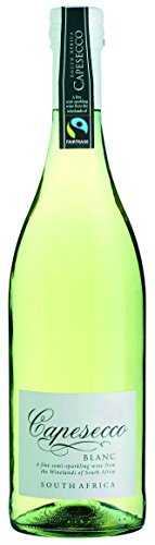 Du Toitskloof - Capesecco Blanc - Südafrikanischer Perlwein - Trocken - 6 Flaschen á 0,75L - Fair Trade