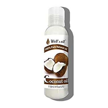 Well's 100% Pure Coconut Oil 4oz