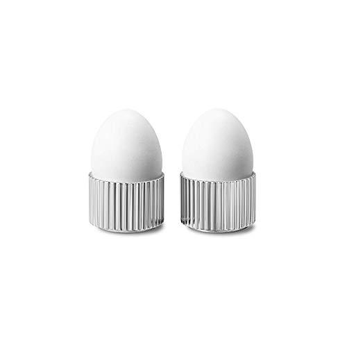 Georg Jensen Bernadotte Egg Cups, Stainless Steel