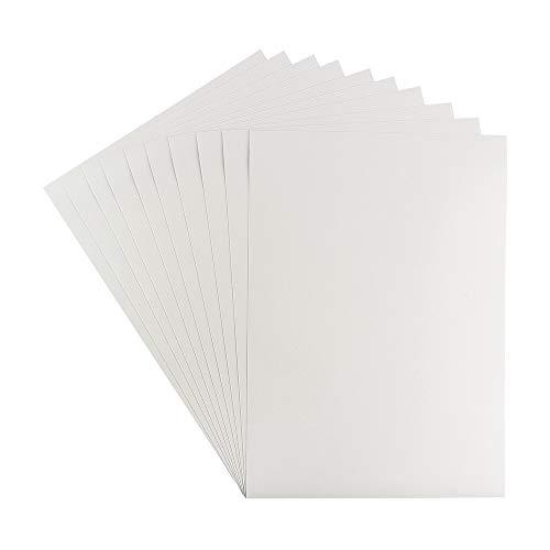 Ideen mit Herz Lámina adhesiva de doble cara, fuerte adhesivo por ambos lados, 10 hojas (DIN A5).