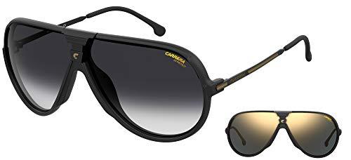 Carrera Gafas de Sol CHANGER65 Matte Black/Grey Shaded - Grey Gold 67/7/135 unisex