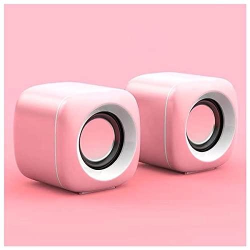 TYGH Desktop-Lautsprecher USB-Anschluss, Stereo 2.0/3,5 Mm-Klinke...