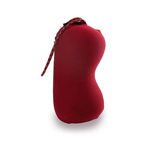 IUwnHceE Almohadas Almohadas Corporales Y para Embarazadas Ligero Portátil Y Multifuncional-Rojo