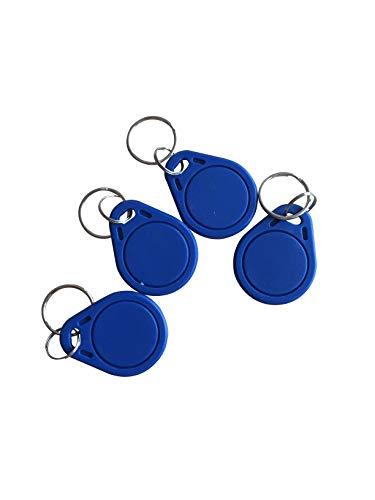 YARONGTECH RFID NFC Tag 13.56mhz MIFARE Classic® 1K Schlüsselanhänger Blau -10pcs