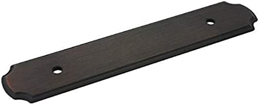 25 Pack - Cosmas B-112-96ORB Oil Rubbed Bronze Cabinet Hardware Handle Pull Backplate/Back Plate - 3-3/4