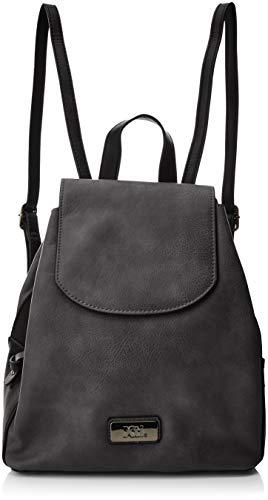 XTI 85975, Bolso mochila para Mujer, Negro, 28 x 34 x 18 cm