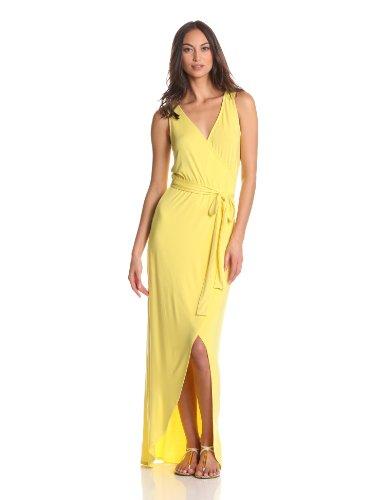 LAmade Women's Belted & Flowy Tank Maxi Dress