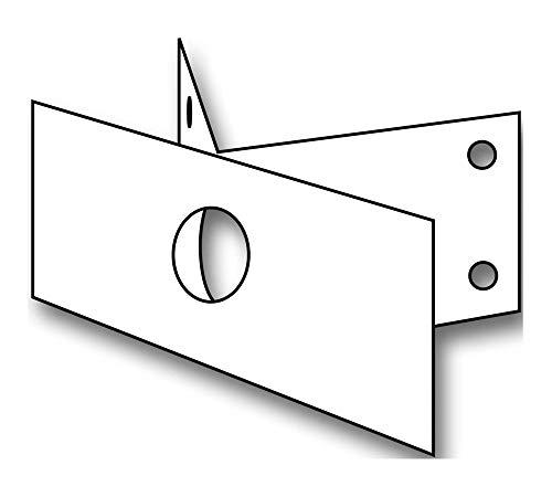 Steinel Eck-Wandhalter EWH 03 ws Mechanisches Zubehör für Leuchten 4007841630416