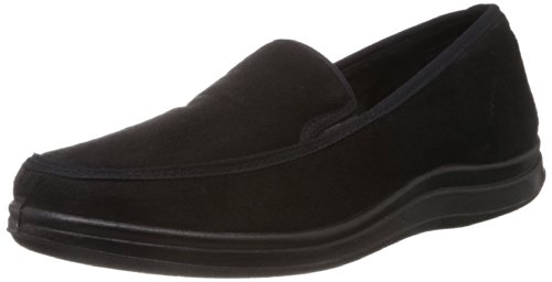 Gliders (From Liberty) Men's Black Canvas Boat Shoes - 9 UK (3070024100430)