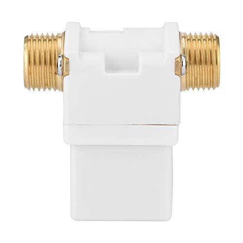 Gojiny Dc 12V G1/ 2 Inch Electroválvula Eléctrica Válvula de Solenoide Interruptor para Calentador de Agua Solar Jardín Riego por Aspersión N C Normalmente Cerrado